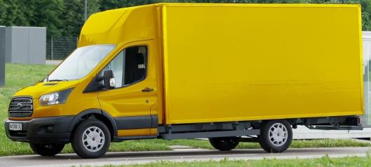 Deutsche Post skal lage egne varebiler