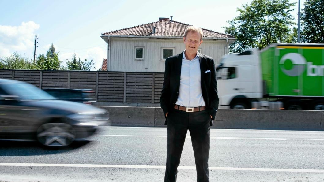 Adm. direktør Are Kjensli i NHO Logistikk og Transport er kjempefornøyd med en godspakke på 23 milliarder kroner.