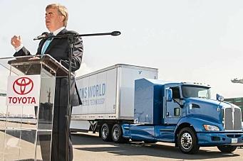 Hydrogendrevet trekkvogn fra Toyota