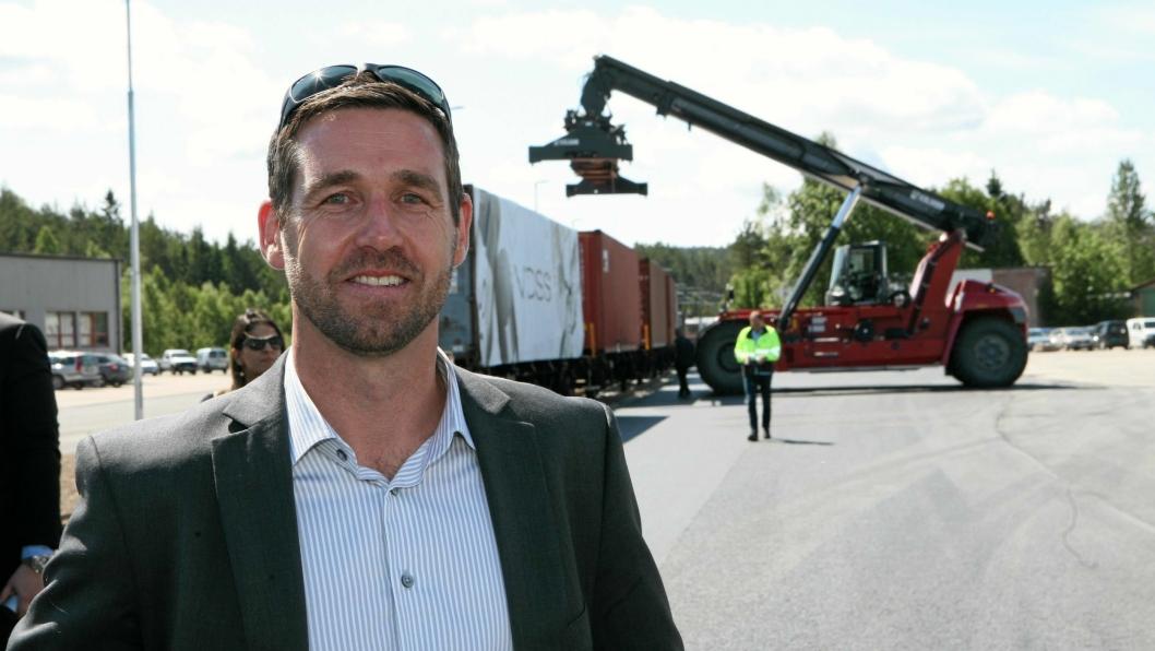 Logistikksjef Arnt Rune Karlsen har full logistikk-kontroll på Voss Water. Foto: Per Dagfinn Wolden