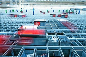 Bygger verdens største AutoStore