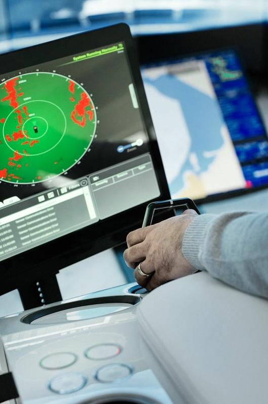 Fjernstyring er omtrent som å sitte i en slags simulator.
