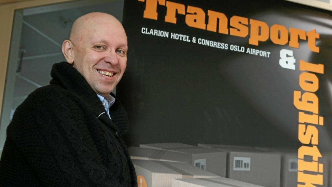 Transport og Logistikk-general Jo Eirik Frøise frister med et allsidig program på årets Gardermoen-konferanse. Foto: Per Dagfinn Wolden