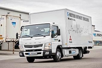Begynner serieproduksjon av el-lastebil