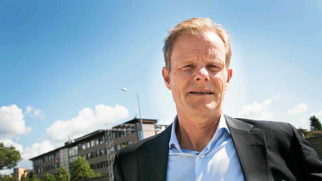 Sjefen for norske speditører, Are Kjensli, er på barrikadene.