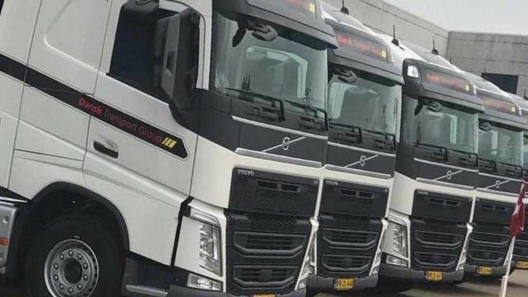 Dansk Transport Group søker billige, rumenske sjåfører.