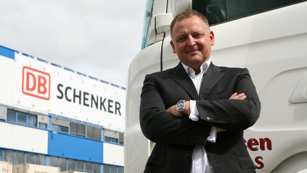 DB Schenkers nye salgs- og markedsdirektør, Peter Stangeland, er visjonær når han snakker om å samle Europa til ett landtransportområde. Foto: Per Dagfinn Wolden