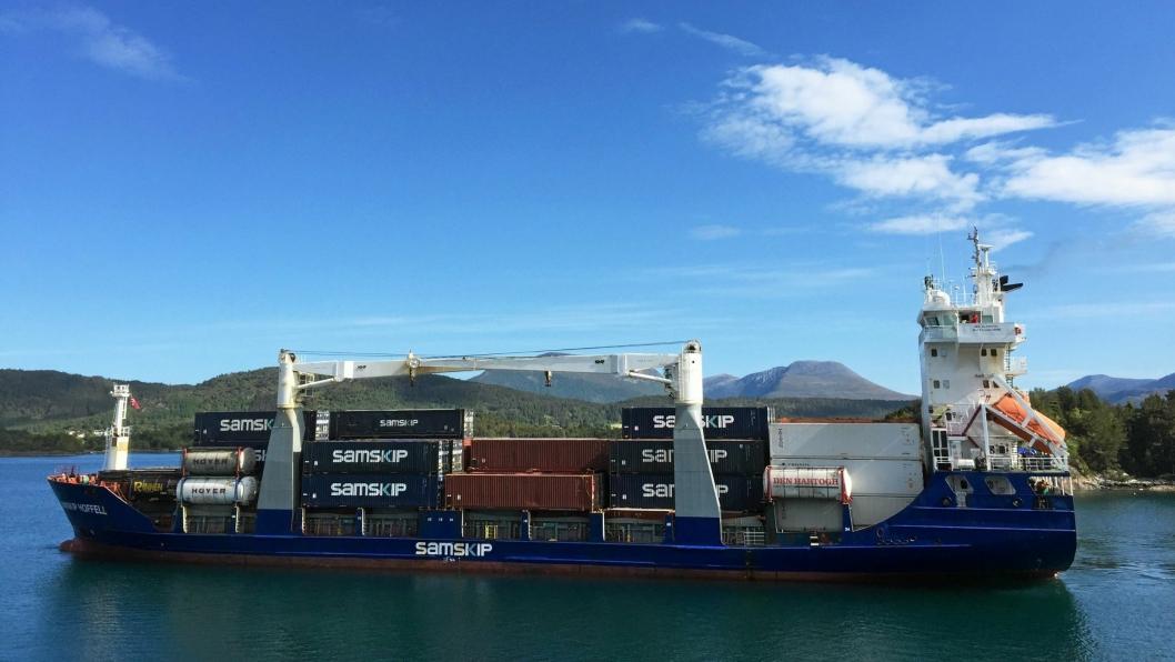 Samskip er et av rederiene som har fått innvilget støtte fra Kystverket.