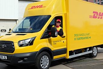 Første el-varebil for Deutsche Post