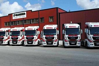 Seks nye MAN til H. K. Solberg Transport
