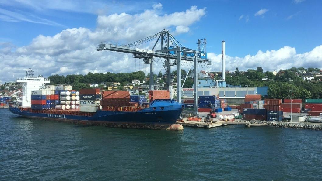 Moss Havn er en av havnene der det nye selskapet vil ha virksomhet.