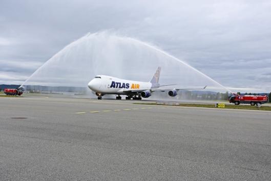 ØKER: DHL har nå to ukentlige avganger med Boeing 747 fra Gardermoen.