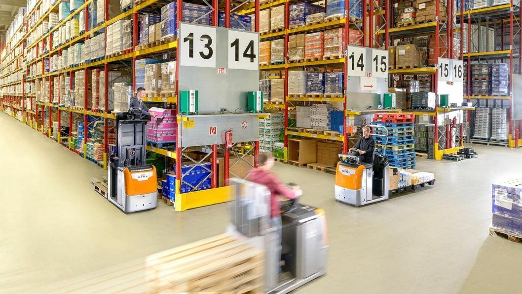 Plukktruck-serien OPX kommer i mange varianter for ulike plukkeoppgaver.