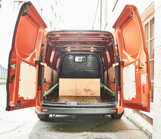 Lasterommet er mer eller mindre uforandret fra den forrige modellen.