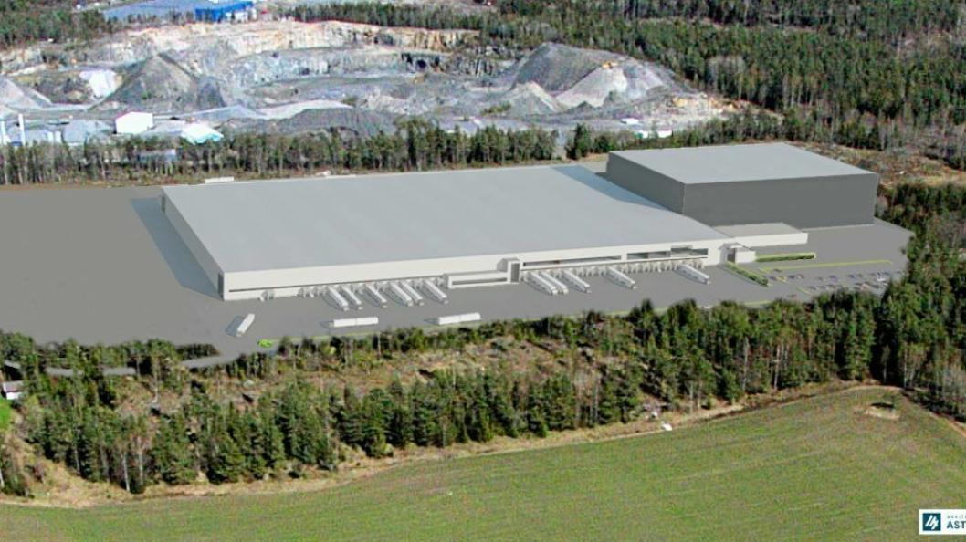 Europris' nye lager i Moss skal utstyres med automasjon fra Swisslog.
