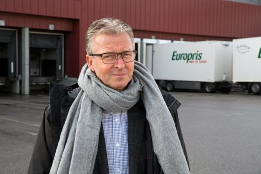 Logistikkdirektør Pål Christian Andersen i Europris. Foto: Øyvind Ludt