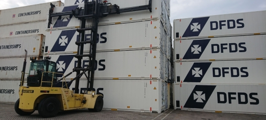 Flere reefere for DFDS