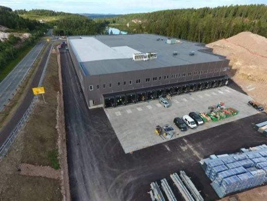 Cater AS flytter hovedlager til Lierskogen, noe som gjør det mulig å bruke elektrisk varebil til å forsyne Asker og Bærum.
