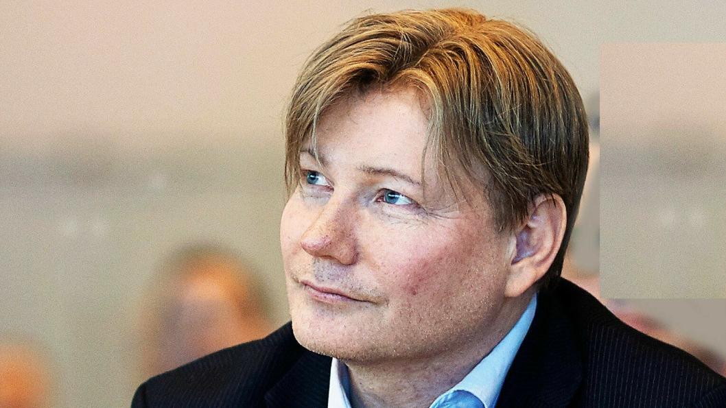 Kommunikasjons- og markedsdirektør Ole A. Hagen i PostNord forteller at nordmenn leder an i bruken av mobil på netthandel.