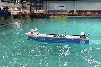 Her testes det autonome skipet i Trondheim