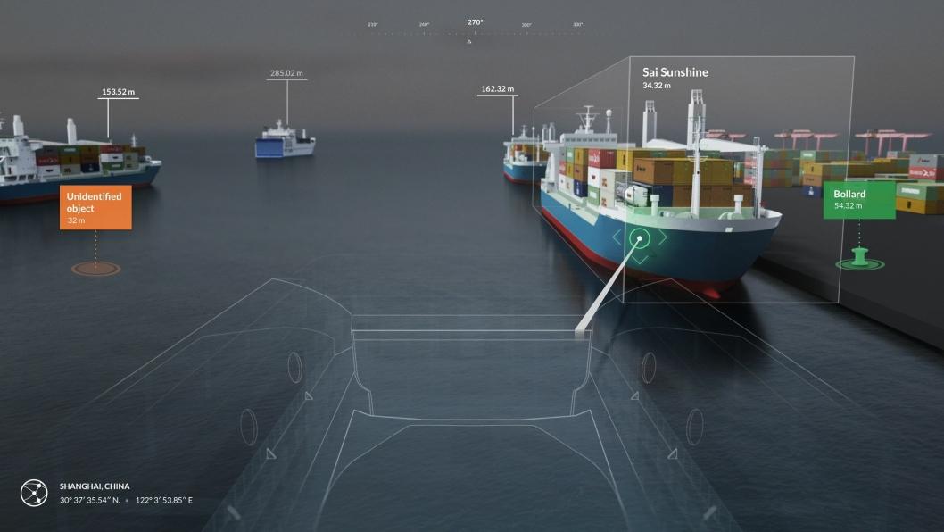 Google og Rolls-Royce skal lage systemer som overvåker skipenes omgivelser grundig.