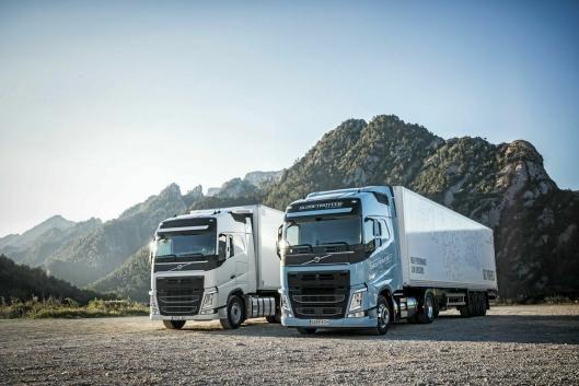 Volvo FM LNG og Volvo FH LNG ble presentert i oktober 2017.
