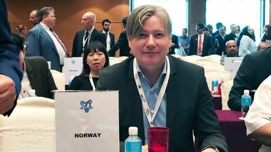 Ole Andreas Hagen er nyvalgt Vice President i FIATA.