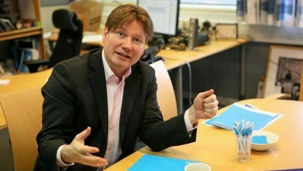 Ole Andreas Hagen er skuffet over manglende prioritering av Alnabruterminalen i Statsbudsjettet 2018. Foto: Per Dagfinn Wolden