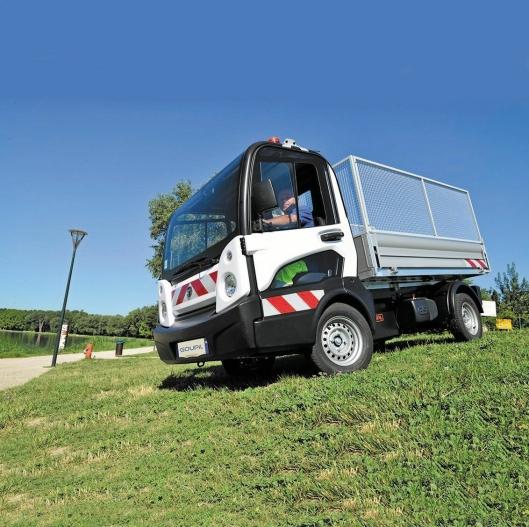 Goupil G5 har 171 km rekkevidde og en topphastighet på 70 km/t.