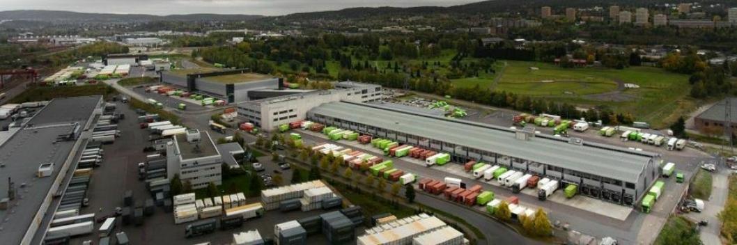 Posten Brings nye logistikksenter er på rundt 73.000 kvadratmeter.