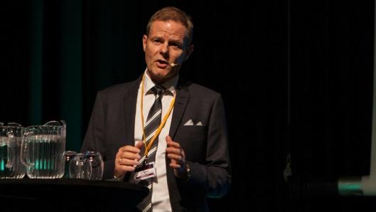 Administrerende direktør i NHO Logistikk og Transport åpnet årets Transport & Logistikk-konferanse på Gardermoen.