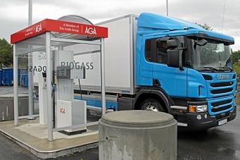 Støtte til kjøp av gasslastebiler
