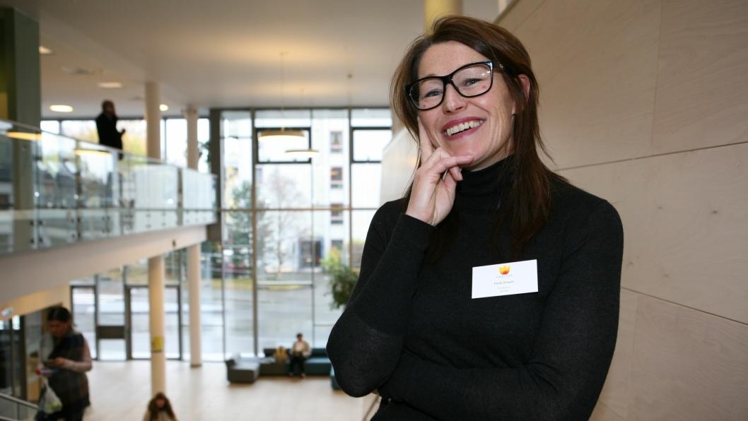 Logistikkprofessor Heidi C. Dreyer er blant toppene i nytenkning av fremtidig verdikjede. Foto: Per Dagfinn Wolden