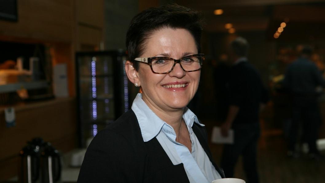 Vil Lisbeth Berg-Hansen nå profilere gods sjøveien på fulltid! Foto: Per Dagfinn Wolden