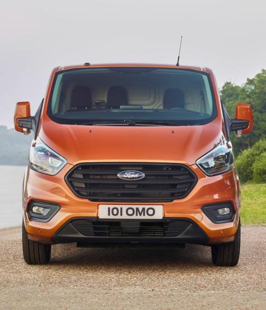 Det er ingen tvil om at dette er en bil designet av Ford.