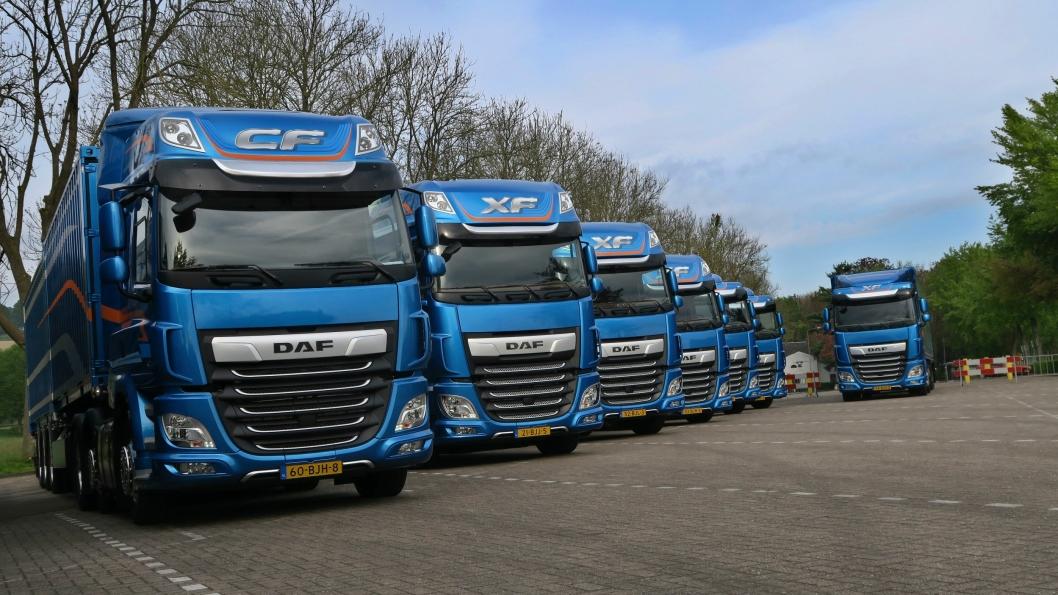 DAFs nye CF- og XF-serier er kåret til årets lastebil 2018.