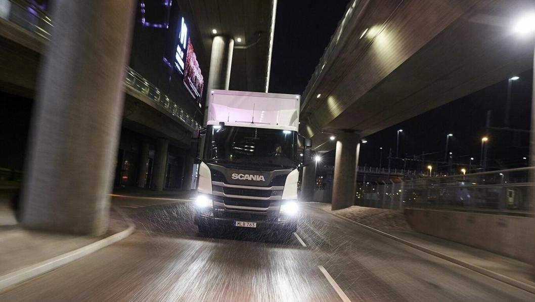 Scania lanserer L-serien med lavere innsteg.