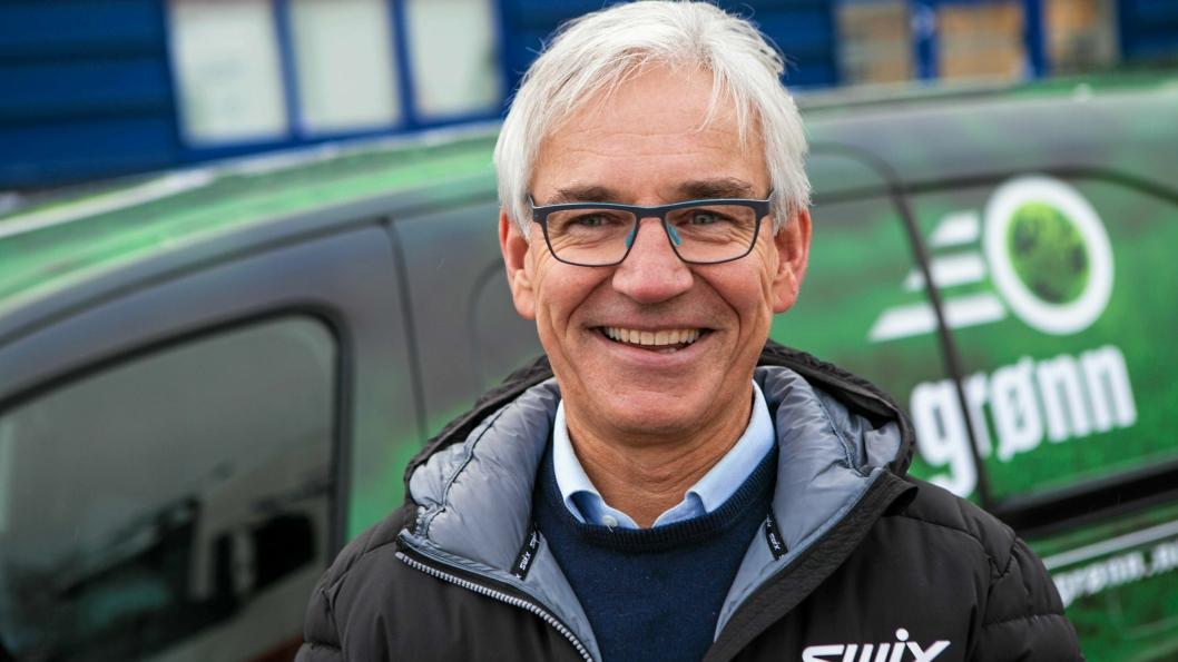 – Vi må tenke miljøvennlig. Som en stor aktør i transportbransjen er det helt naturlig at vi leter etter løsninger som gjør vår virksomhet bedre for omgivelsene, sier Per-Jørgen Melnes i Transport-Formidlingen SA, som står bak Dønn Grønn.