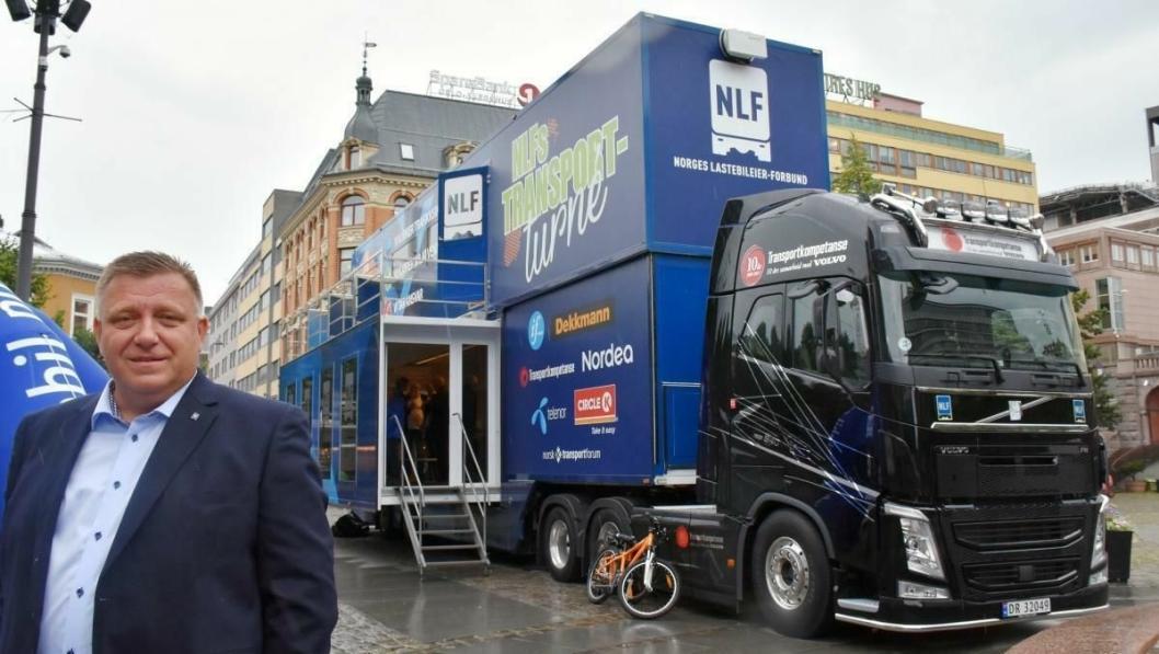 Adm, direktør Geir A. Mo i NLF kan konstatere at Girteka er med i kampen mot EUs liberalisering av kabotasjeregelverket.