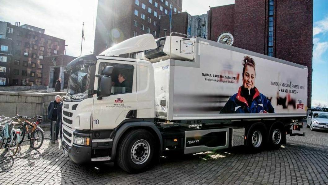 VIL KUTTE UTSLIPP: Varelevering i Oslo-sentrum blir dyrere, både med de nye høyere bomavgiftene og et årsgebyr på 50.000 kroner for eldre lastebiler.