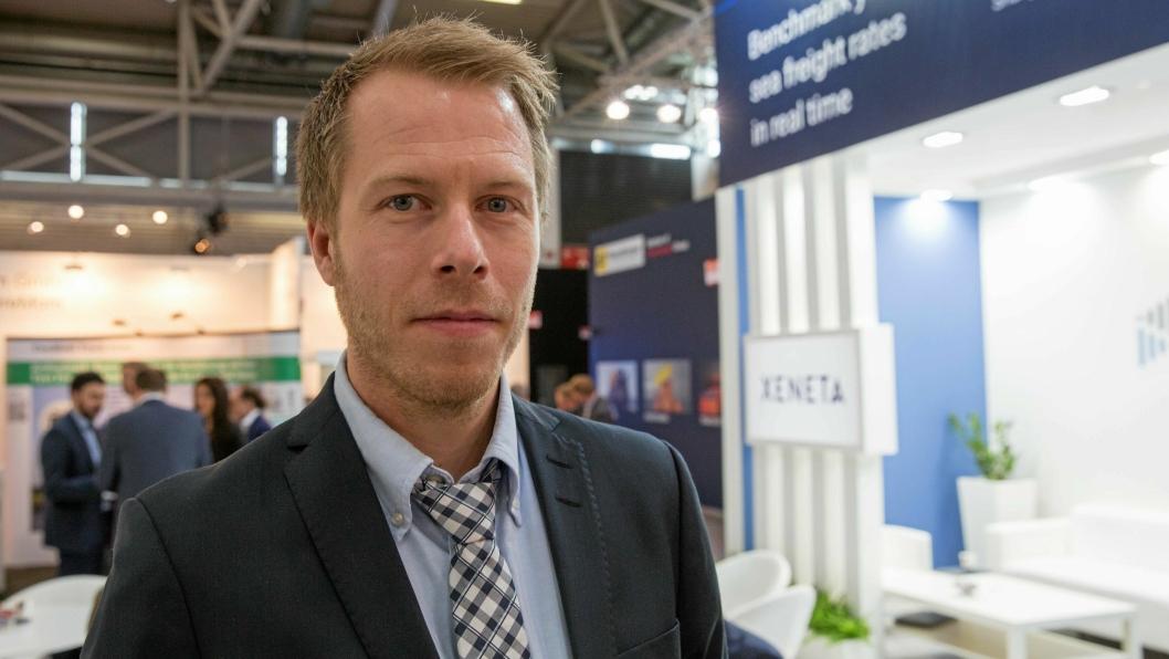 CEO i Xeneta, Patrick Berglund, gleder seg å tilby tjenesten også til flyfraktkjøpere.