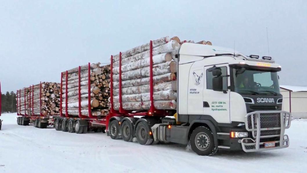 Biodrivstoffet er øremerket tungtransport på vei.