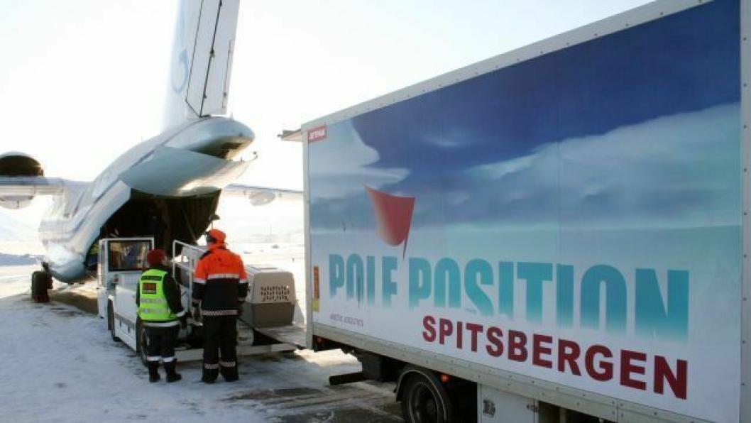 Svalbardbaserte Pole Position Logistics er godt etablert i logistikk-knutepunktet Narvik.