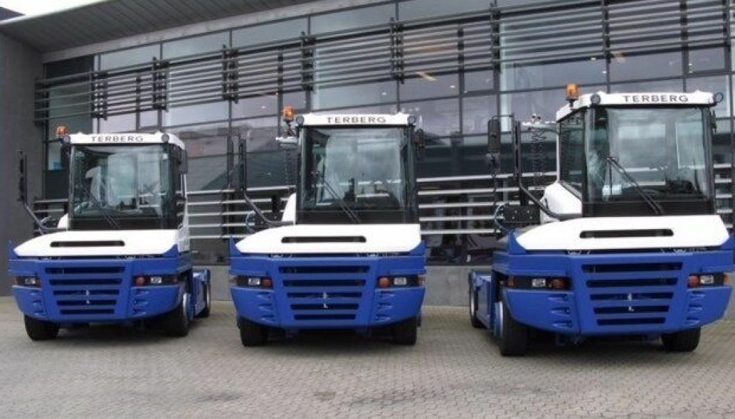 NY FORHANDLER: Terberg terminaltraktorer er det dominerende merket på det norske markedet. Nå blir det Hesselberg Truck som skal selge på vegne av NC Nielsen.