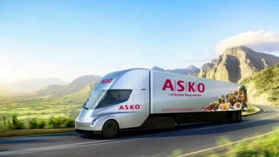 Asko kjøper ti av Teslas nye lastebil
