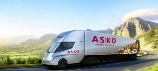 UPS med Asko på hjul