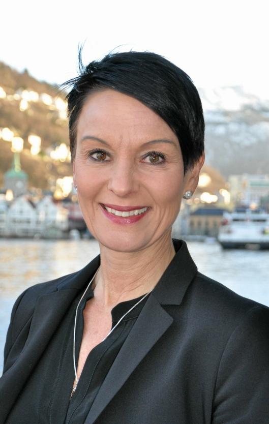 Michelle Williams, CEO i Grieg Logsistics, håper at samarbeide kan skape den mest effektive formen for havneterminaldrift i Norge.