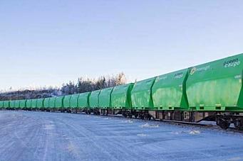 Reduserer transporten med 25 prosent