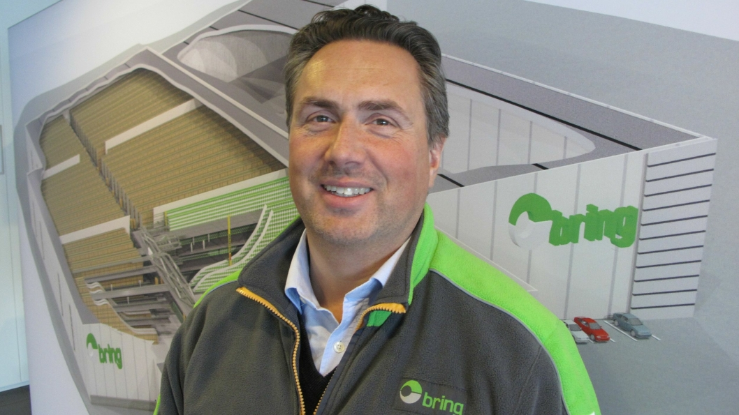 Styreleder Robert Lona i Bring Trucking forteller at NLF farer med feilaktige påstander.