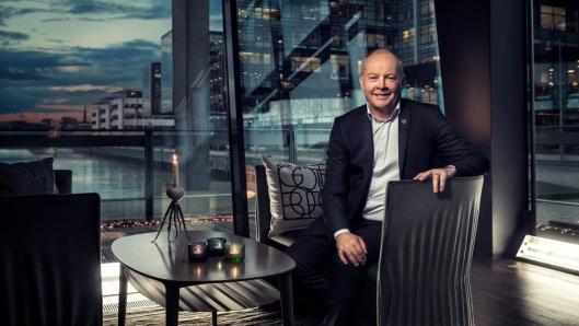 Volvo Trucks starter salget av elektriske lastebiler i Europa i 2019, sier Claes Nilsson, som er administrerende direktør i Volvo Trucks. Foto: Volvo Trucks